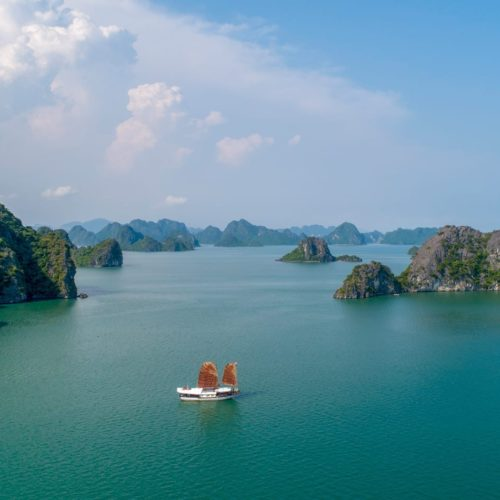 l'amour sailing vietnam islands