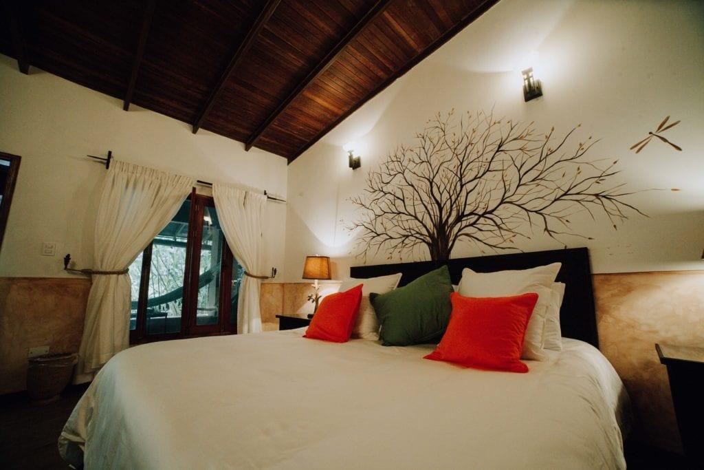 wakü lodge double bedroom