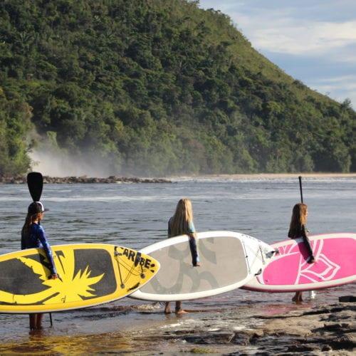 paddle boarding experience wakü lodge
