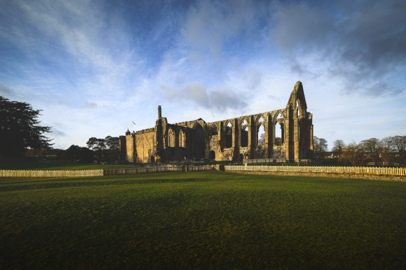 Yorkshire Ruins Church England