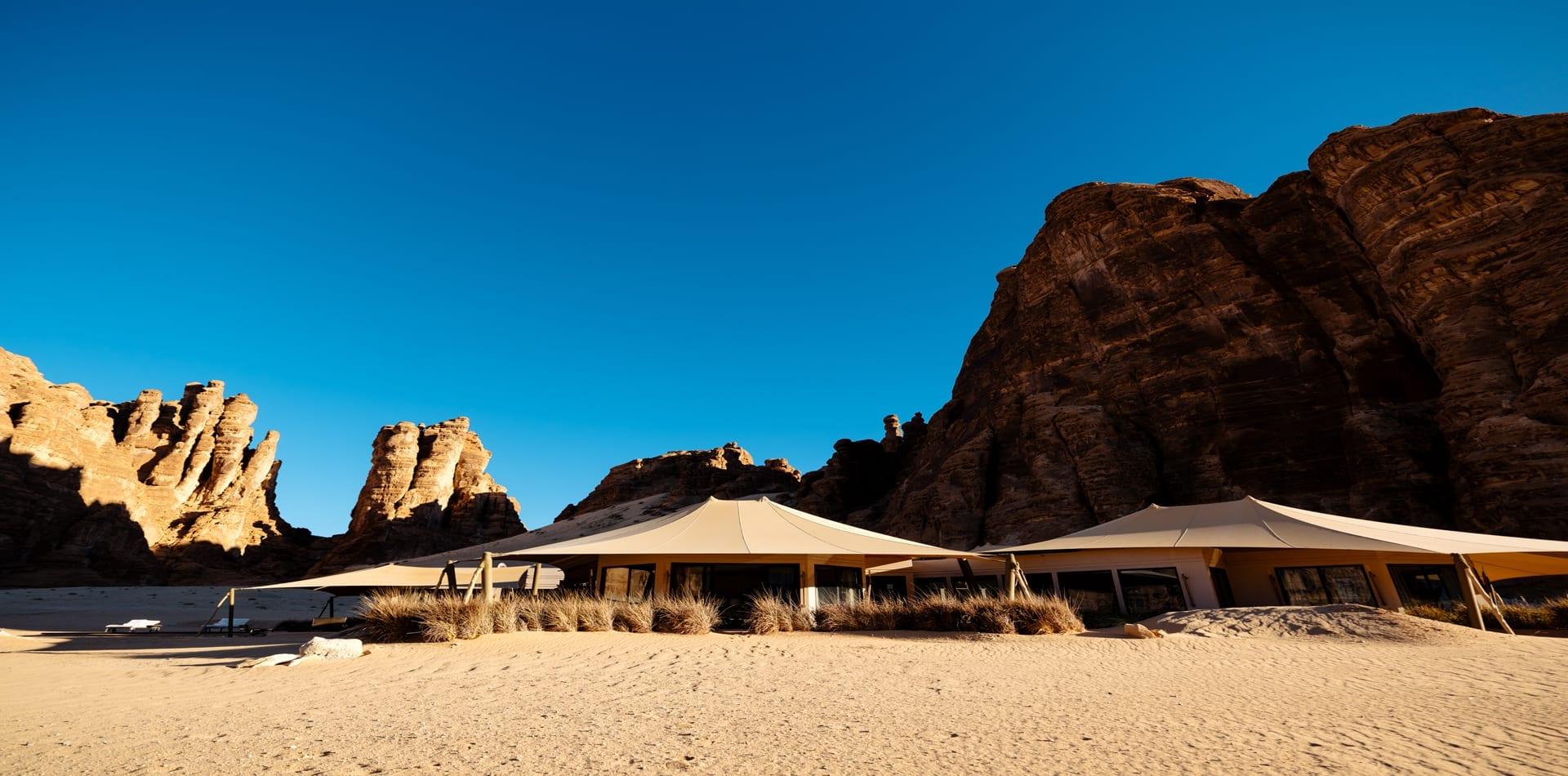 Ashar Resort Exterior View Hero Image Al Ula Saudi Arabia