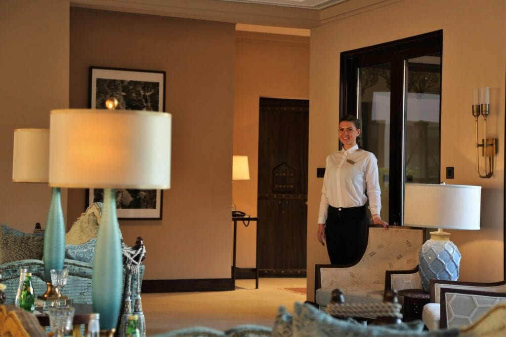 Ashar Resort Seating Lounge Area Interior Al Ula Saudi Arabia