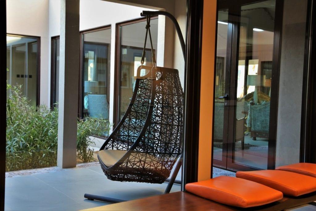 Ashar Outdoor Seating Area at Ashar Resort Al Ula Saudi Arabia