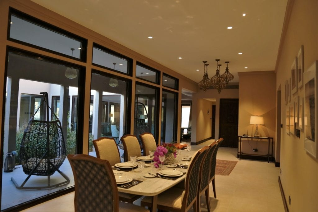 Dining Area Interior at Ashar Resort Saudi Arabia