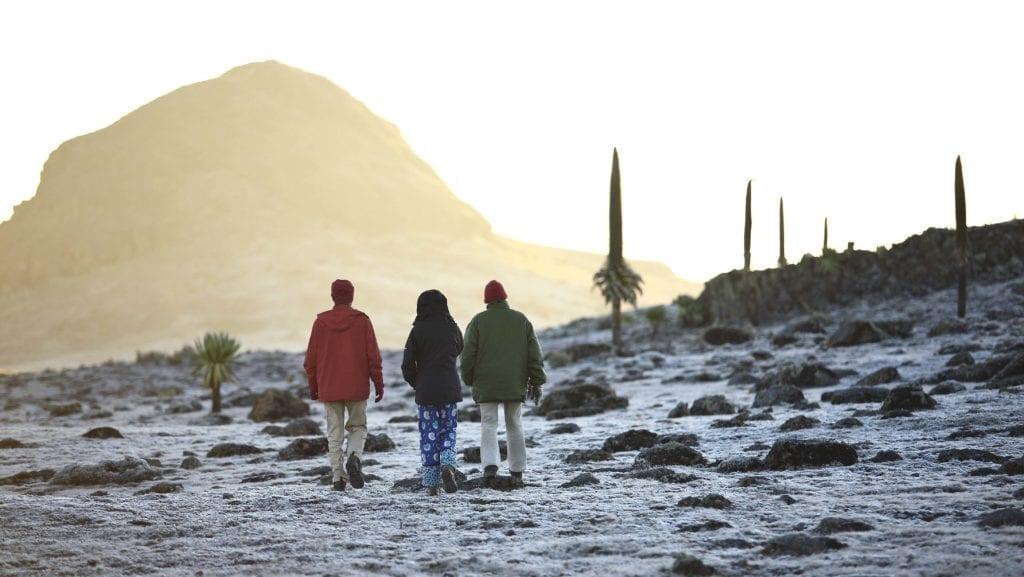 Sanetti Plateau Early Morning Sunrise Ethiopia