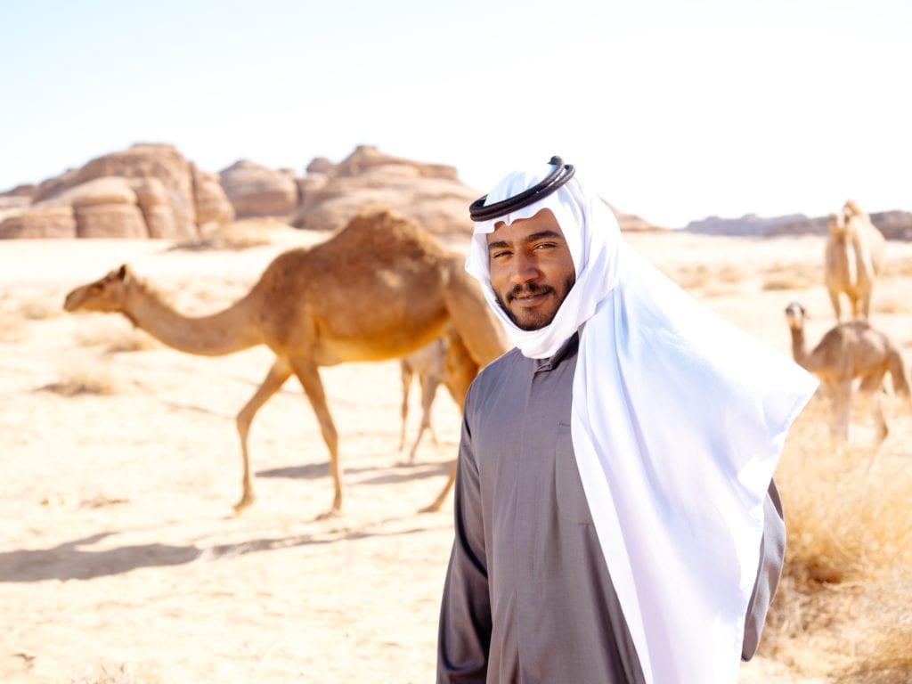 Friendly AlUla desert guide