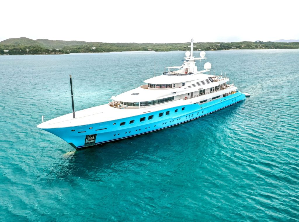 Axioma Yacht Aerial