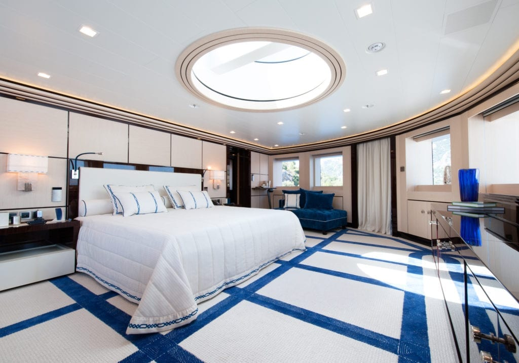 Master Cabin on Axioma Yacht
