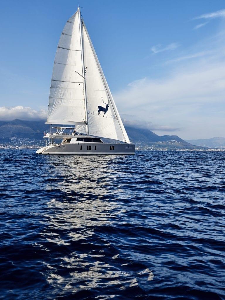 blue deer sea lodge catamaran sailing