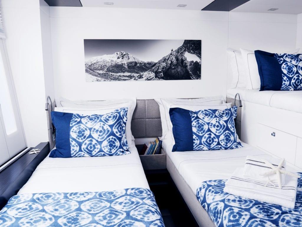 twin room blue deer sea lodge italy