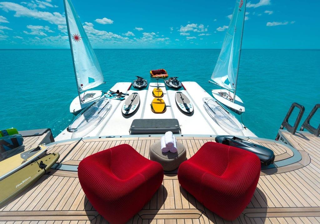 Bold Yacht Exterior Swim Platform