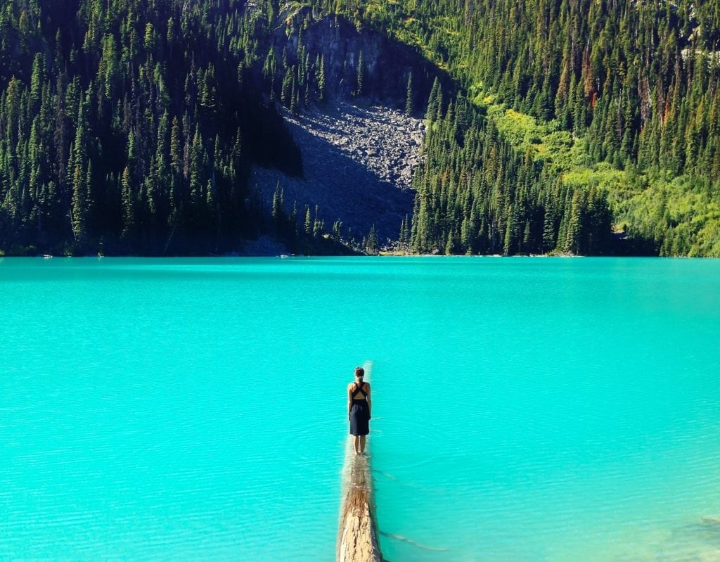 British Columbia Mount Currie lake