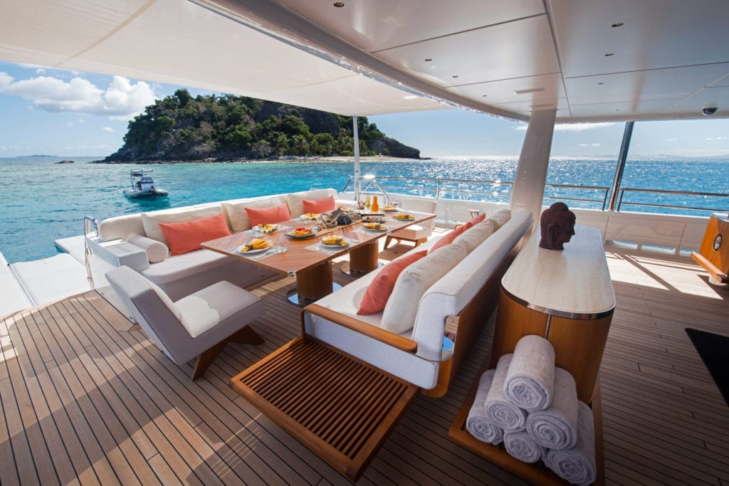 Driftwood Yacht Main Deck Aft