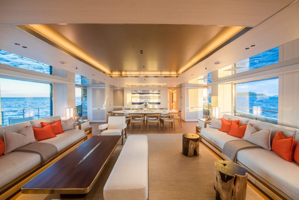 Driftwood Yacht Main Salon