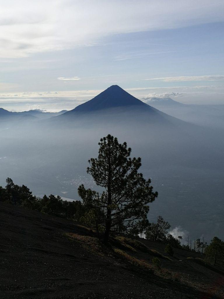 Guatemala Volcano Landscape