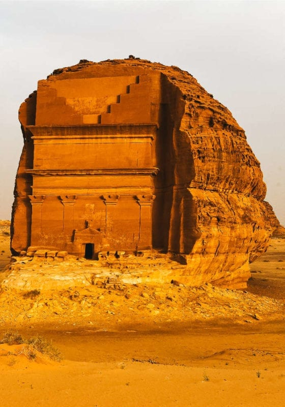Hegra, UNESCO World Heritage Site in Saudi Arabia