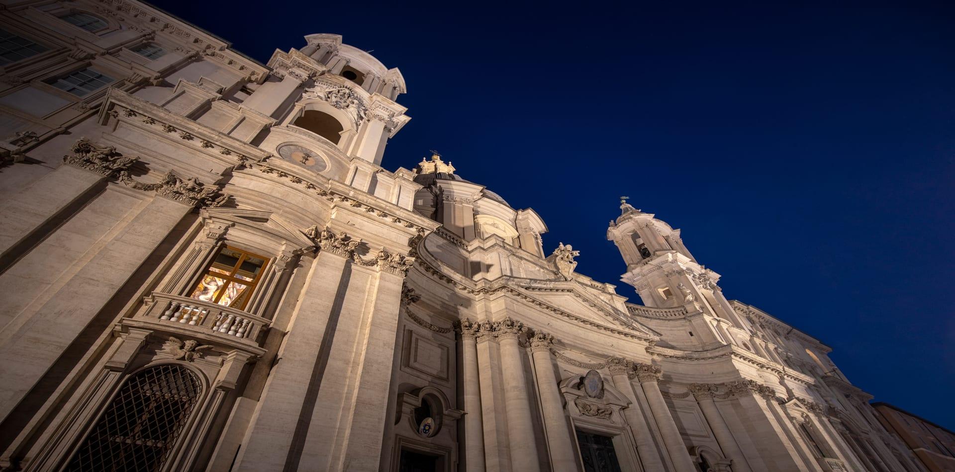 holy deer city lodge church exterior rome