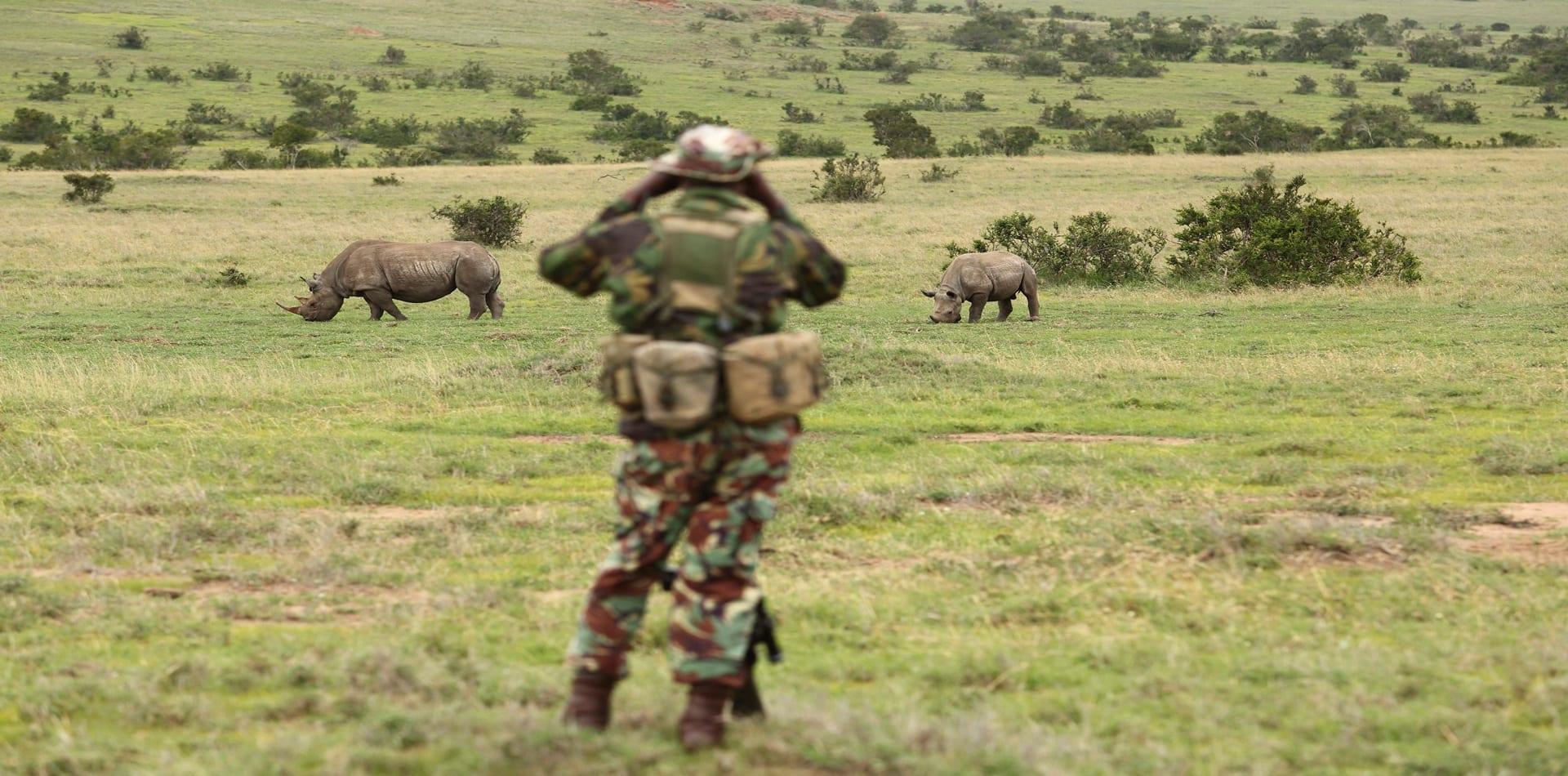 field ranger rhino conservation kenya