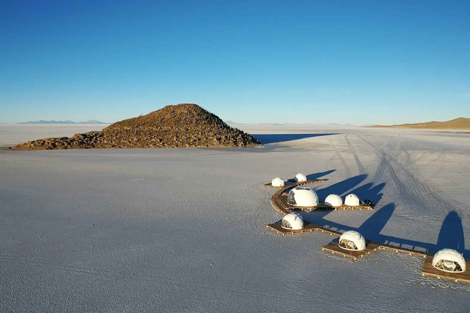 Kachi Lodge on Bolivia's salt flats