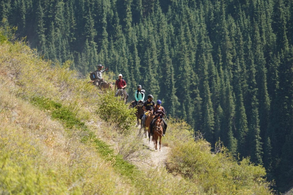horse riding experience kazakhstan