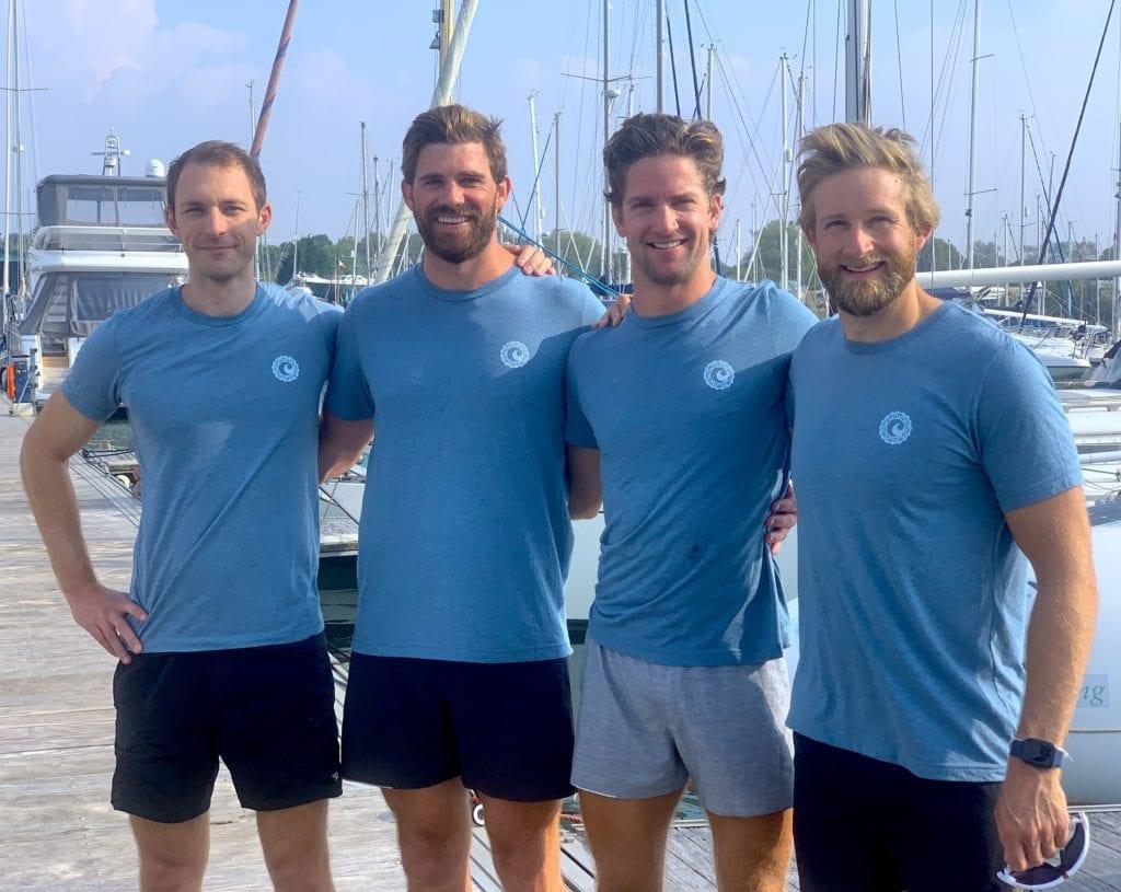 Latitude team shot on the jetty