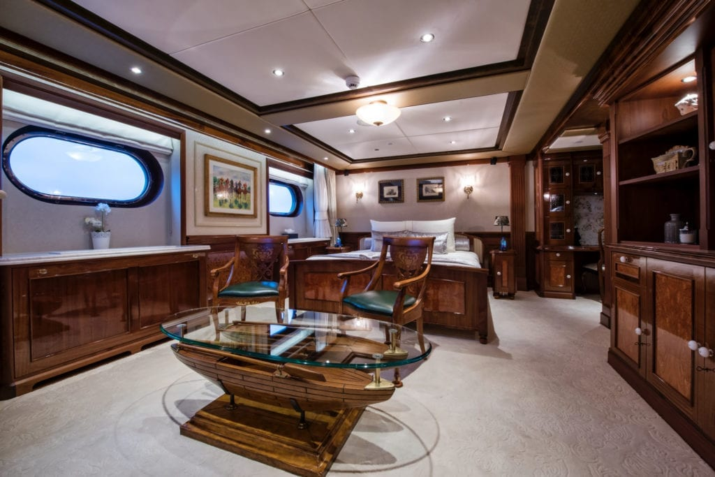 Guest Suite on Legend Yacht