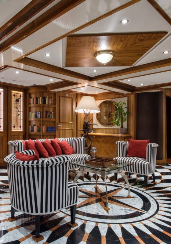 Lounge Area on Legend Yacht