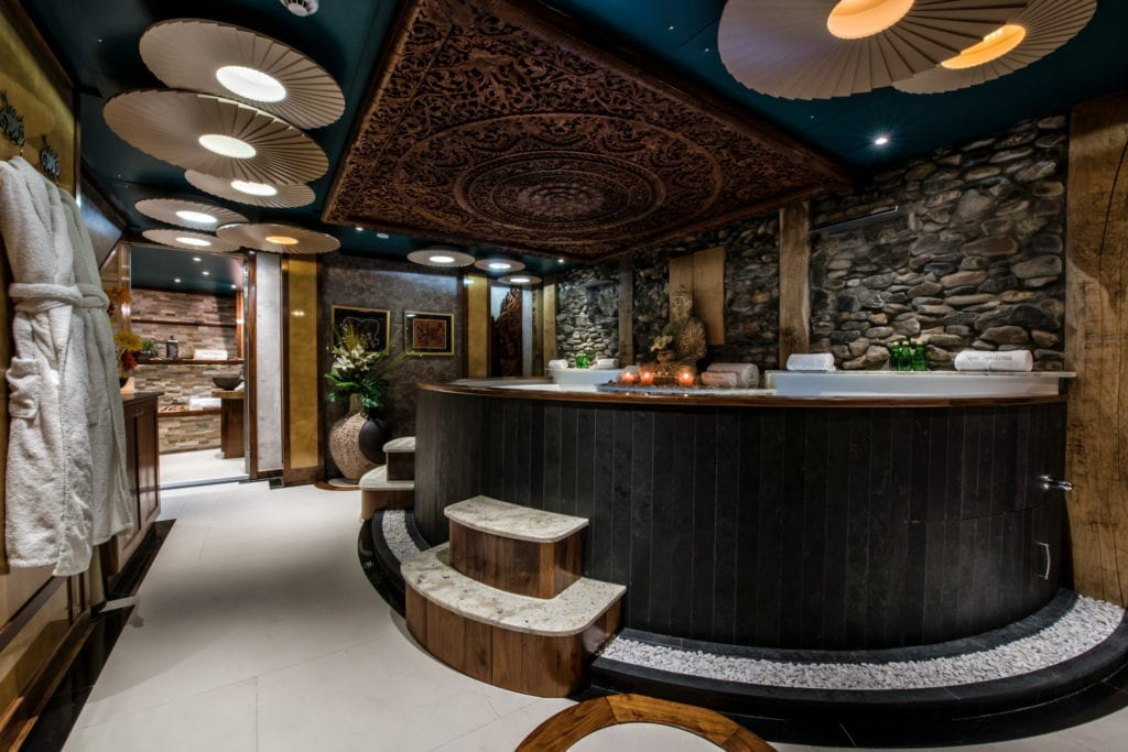 Spa on board Legend Yacht