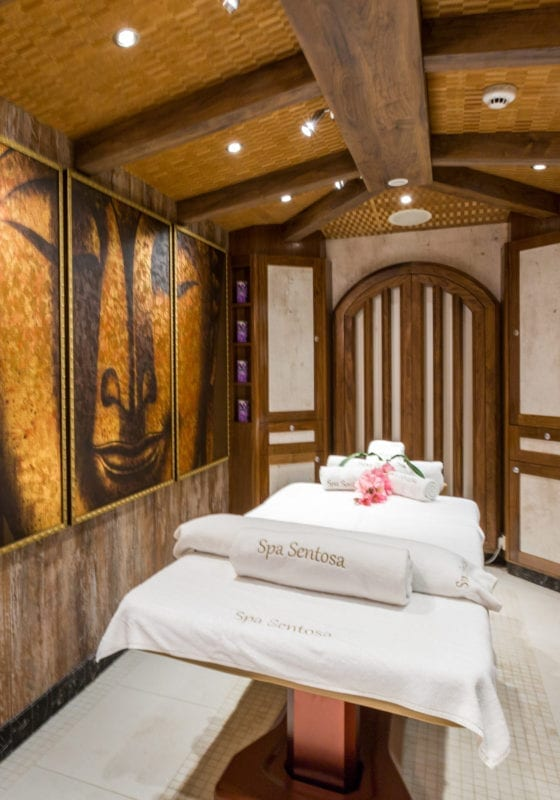 Massage Room on Legend Yacht