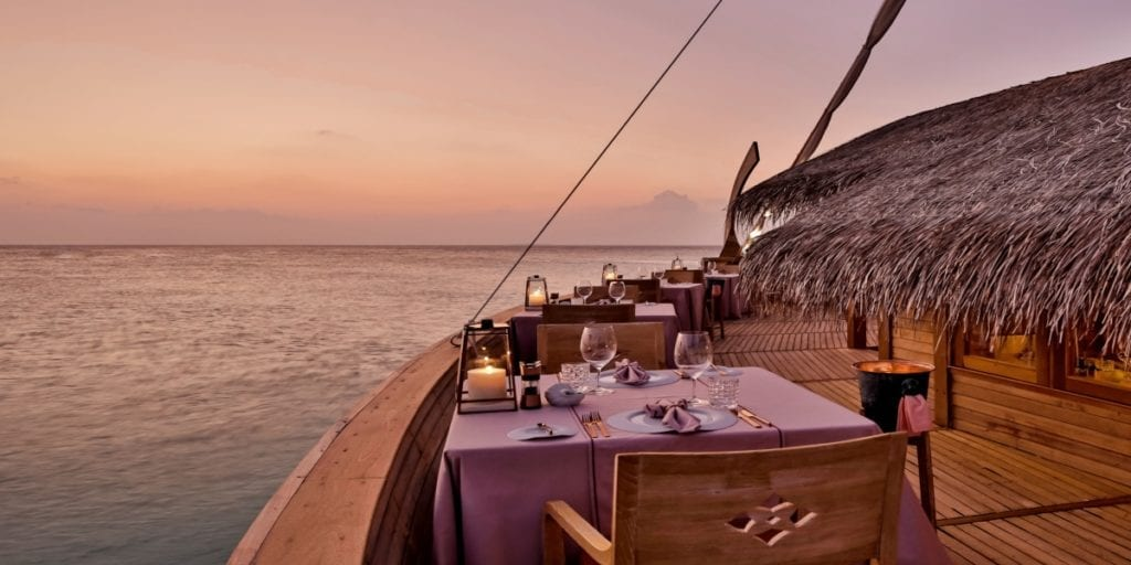 batheli restaurant milaidhoo island