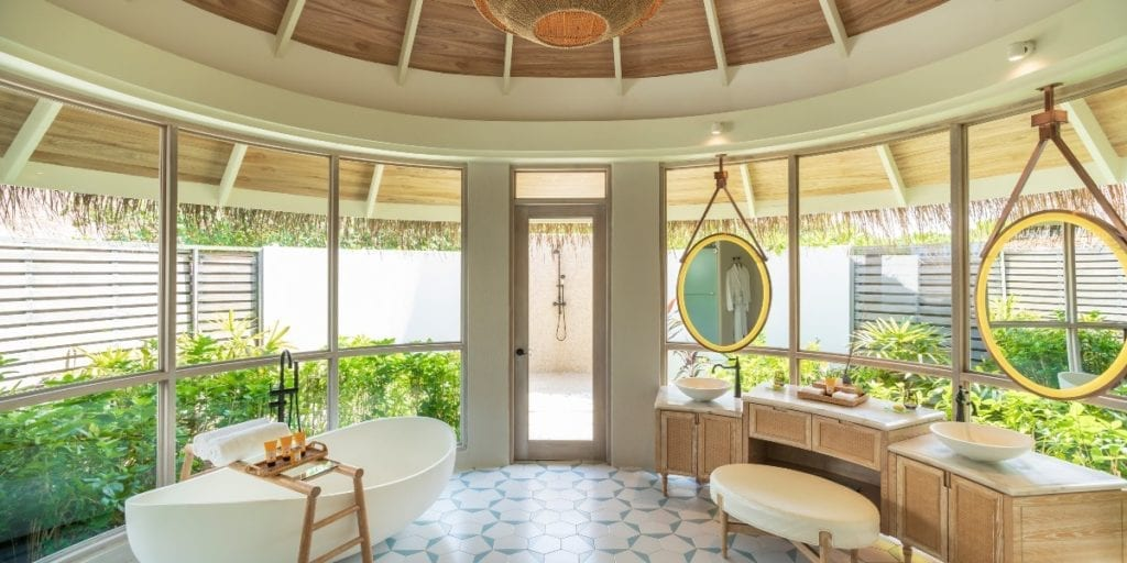 milaidhoo island villa interior bathroom