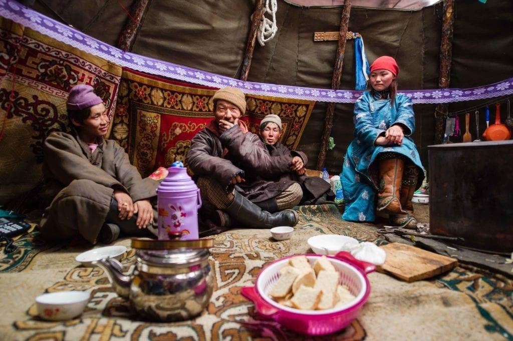 Mongolia Tsaatan Reindeer Herders