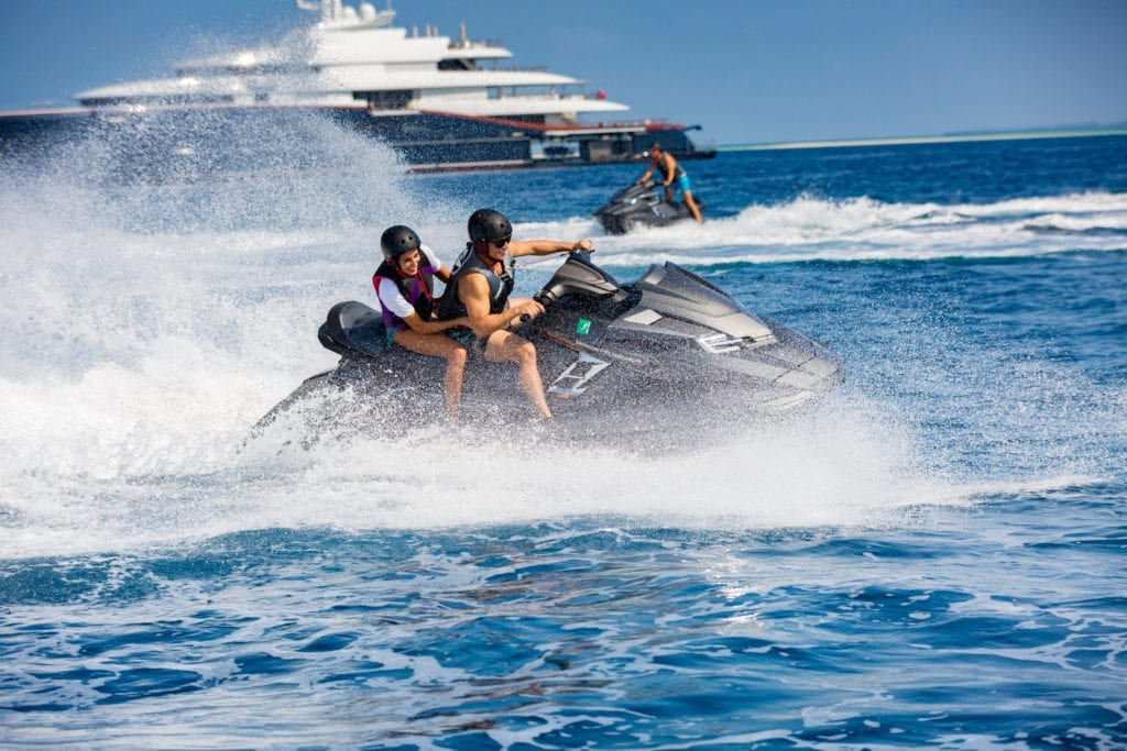 Nirvana Yacht Jet Skis