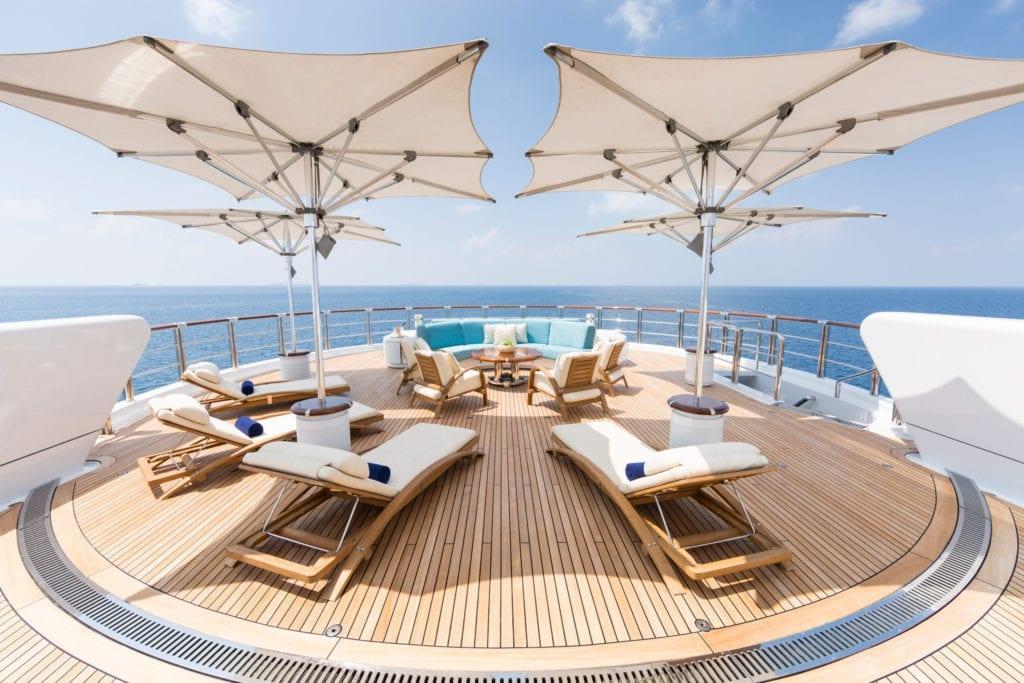 Nirvana Yacht Sun Deck