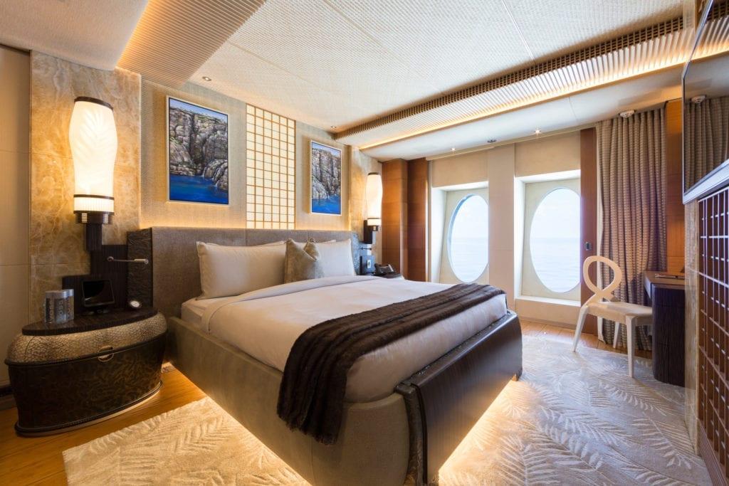 Guest Double Cabin on board Nirvana Yacht