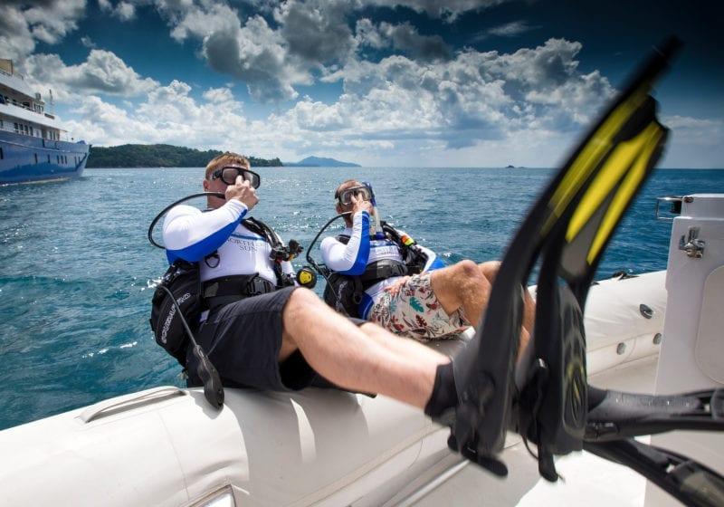 Northern Sun Yacht Exterior Diving
