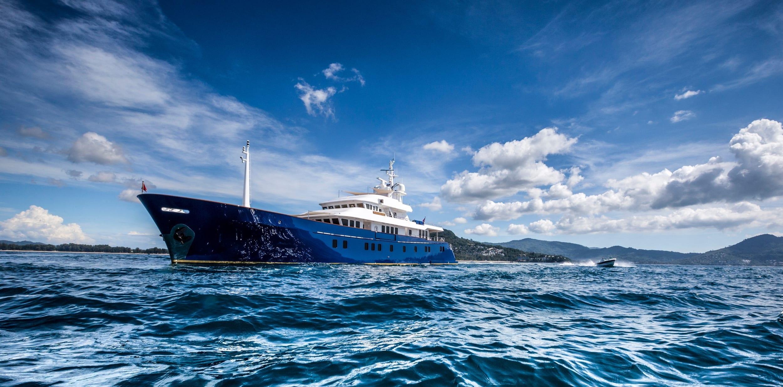 Northern Sun Yacht Exterior Hero
