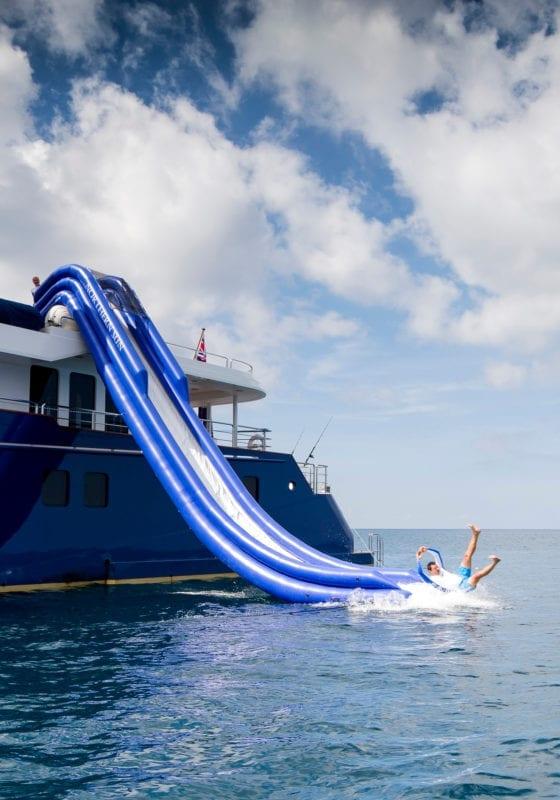 Northern Sun Yacht Exterior Slide