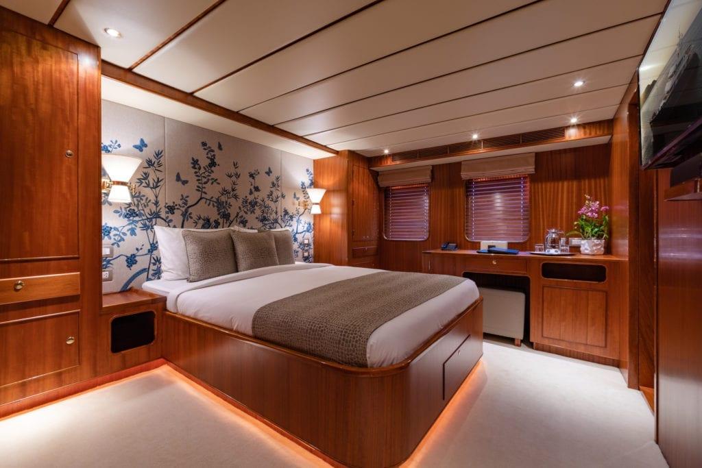 Northern Sun Yacht Interior Double Cabin
