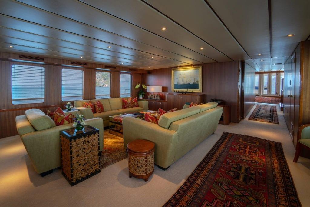 Northern Sun Yacht interior Lounge
