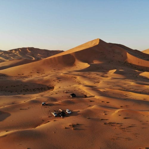 Bedu camp in the deserts of Oman