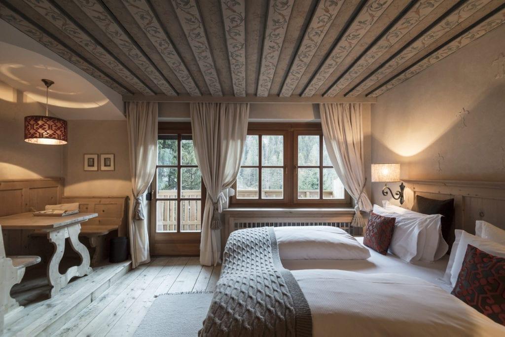 rosa alpine deluxe suite dolomites