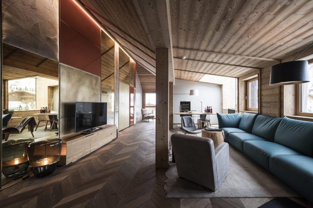 penthouse suite rosa alpina