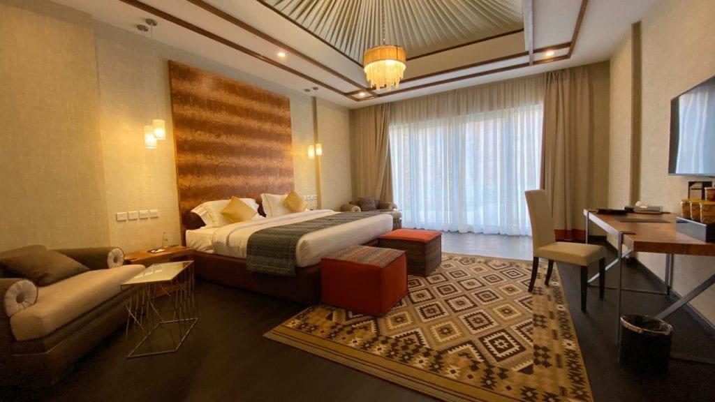Shaden Resort Saudi Arabia bedroom interior