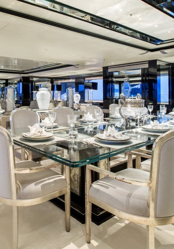 Silver Angel interior Dining