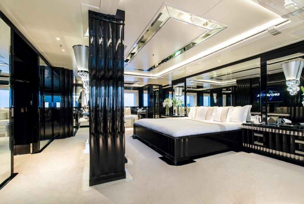 Silver Angel Yacht Master Suite