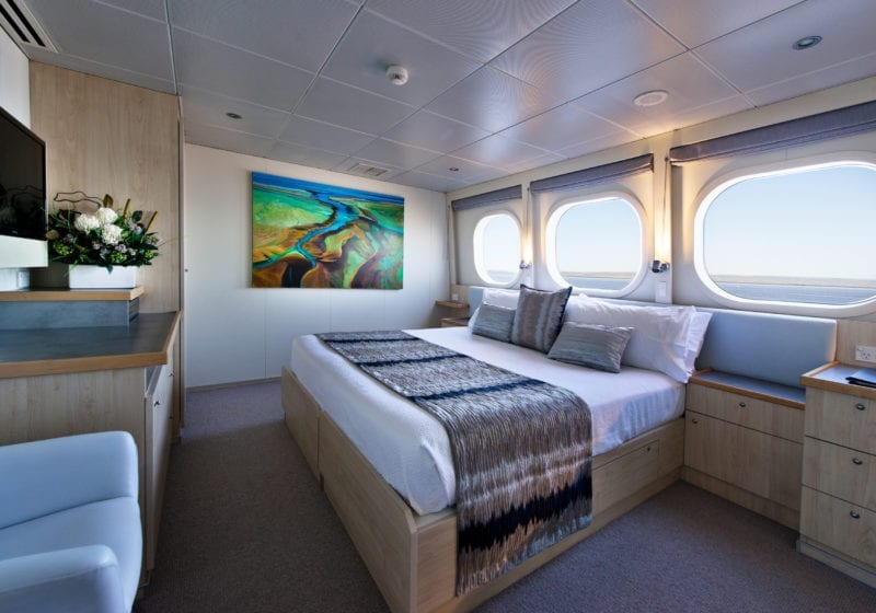 True North Interior Guest Cabin
