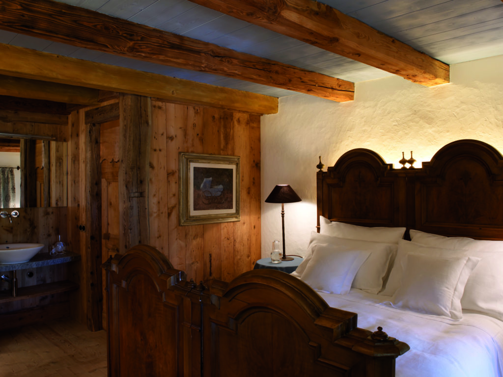 double bedroom white deer mountain lodge dolomites