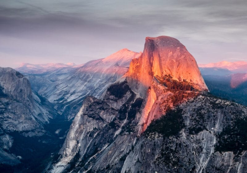Sunrise at Yosemite National Park