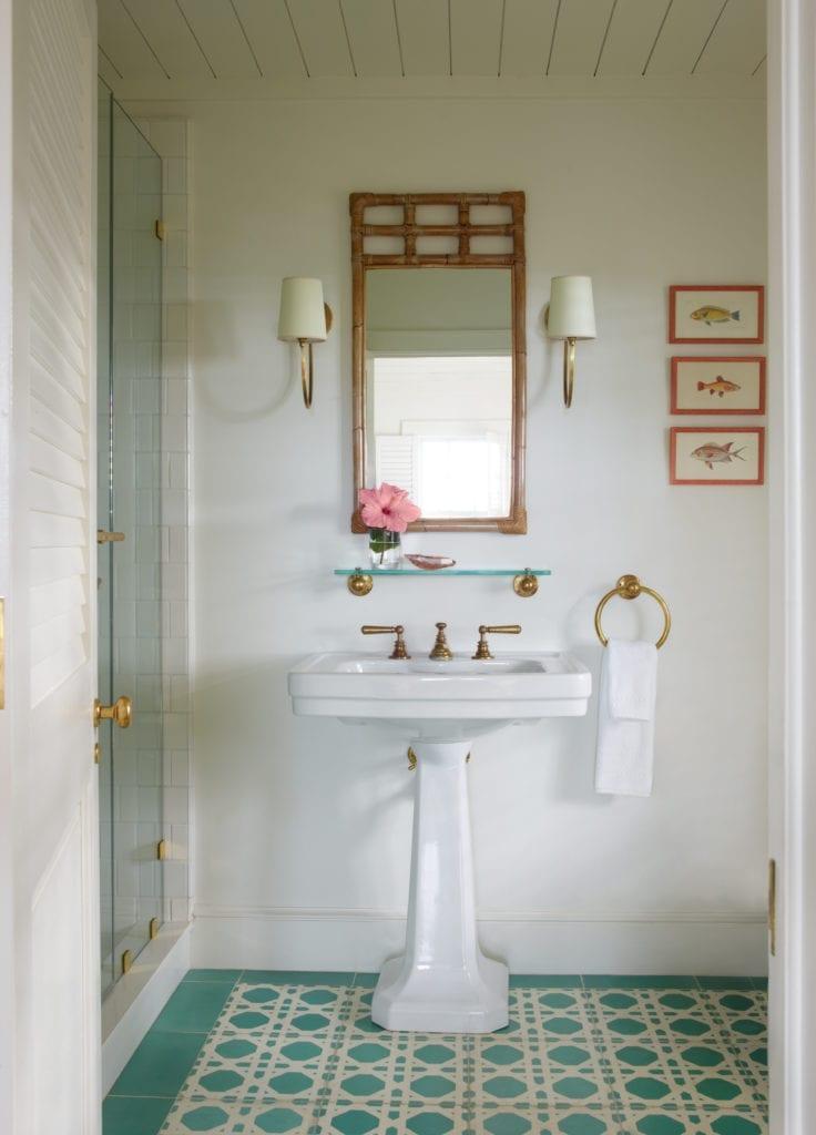 Bahama House Bathroom Interior Bahamas Caribbean